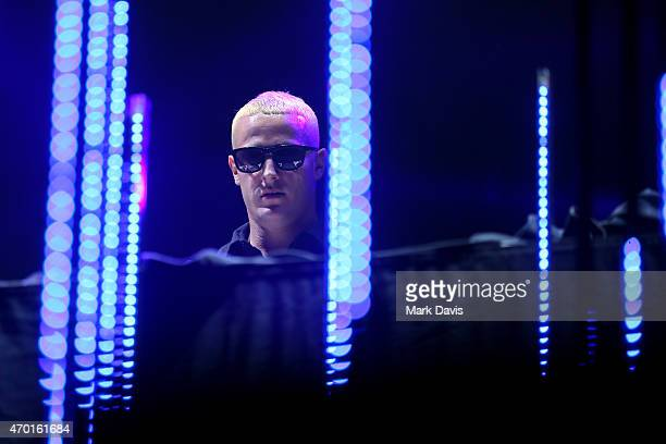 Snake performs onstage during day 1 of the 2015 Coachella Valley Music And Arts Festival at The Empire Polo Club on April 17 2015 in Indio California
