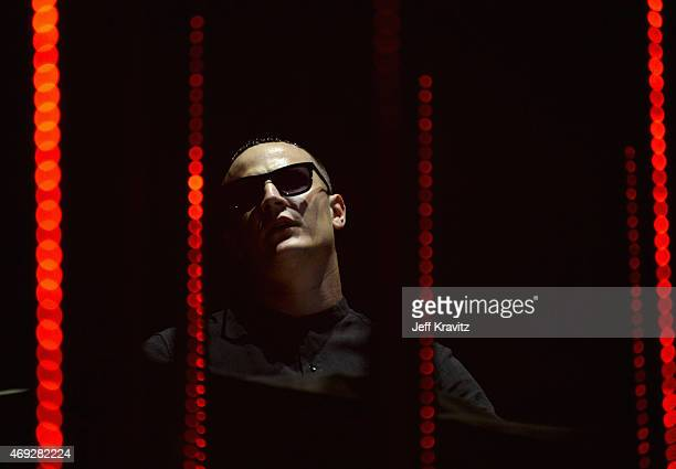 Snake performs onstage during day 1 of the 2015 Coachella Valley Music Arts Festival at the Empire Polo Club on April 10 2015 in Indio California