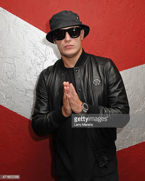 DJ Snake poses for a portrait at Radio Station 973 Hits on April 30 2015 in Miami Florida
