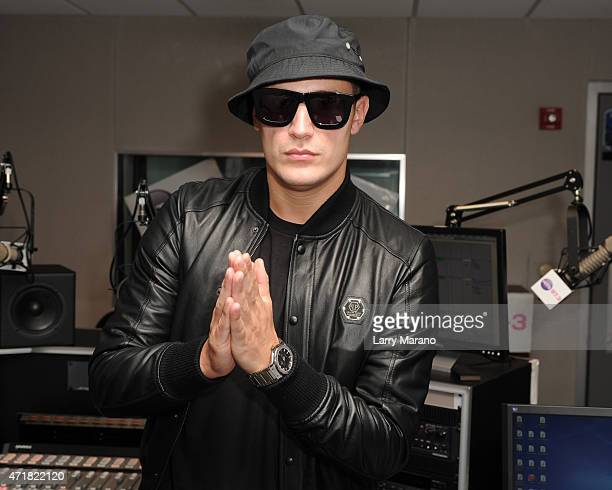 DJ Snake visits Radio Station 973 Hits on April 30 2015 in Miami Florida