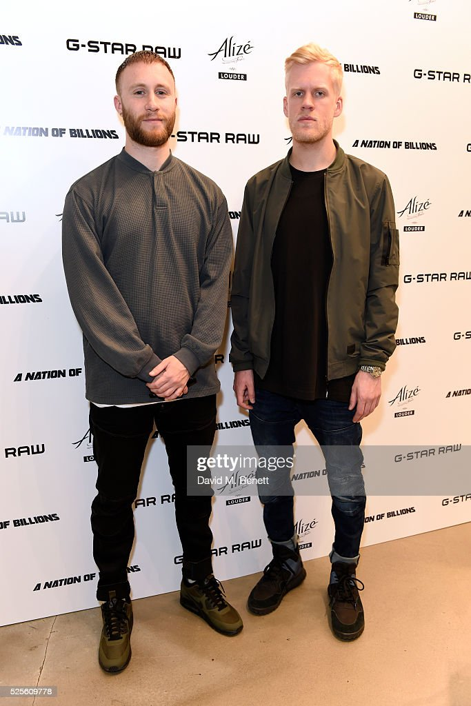 Snakehips attend the G-Star Elwood Sessions on April 28, 2016 in London, England.