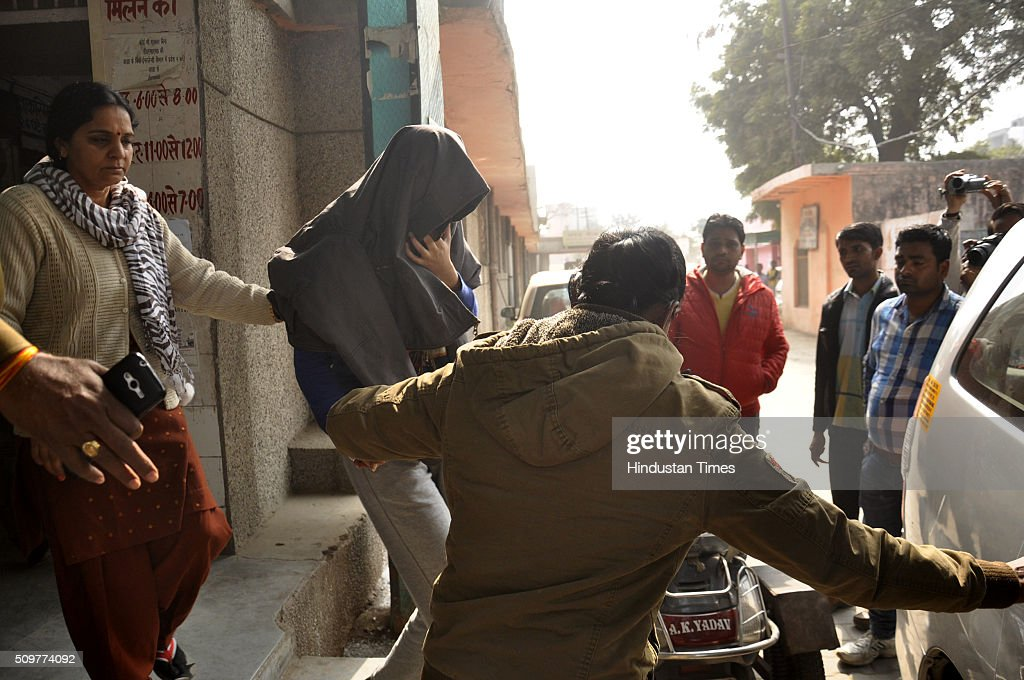 Snapdeal employee Dipti Sarna taken to MMG government hospital for medical examination on afternoon after her return on February 12, 2016 in Ghaziabad, India. The 24-year-old Snapdeal employee had been missing since Wednesday night after she was last seen taking a shared autorickshaw from Vaishali Metro station to the Ghaziabad bus stand. She was allegedly kidnapped at knife-point after she took an auto in Ghaziabad. She told the police that the miscreants fed her on time, took care of her and she do not want to press charges. Just after the kidnapping the police launched very extensive search operations. However the girl called her parents at around 7 this morning and said she was on a train to Delhi.