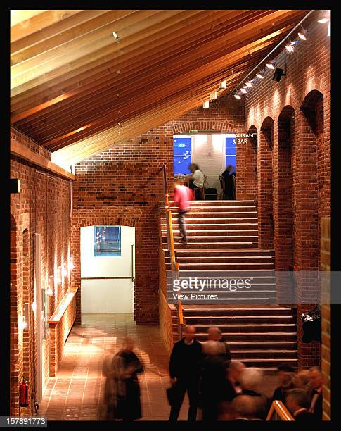 Snape Maltings Concert Hall [Aldeburgh Productions] Saxmundham United Kingdom Architect Penoyre And Prasad Snape Maltings Concert Hall Entrance With...