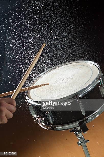 Snare Drum Water Splash