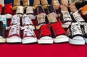 Sneaker shoes for sale in shop
