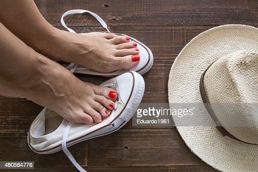sneakers colors : Stock Photo