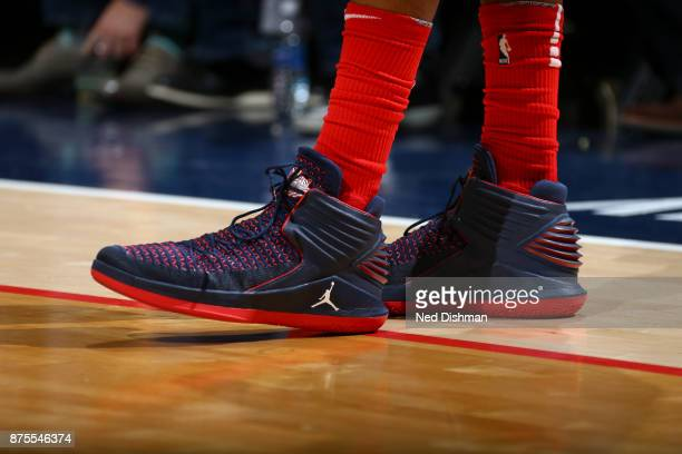 Sneakers of Otto Porter Jr #22 of the Washington Wizards on November 17 2017 at Capital One Arena in Washington DC NOTE TO USER User expressly...