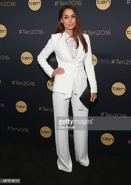 Snezana Markoski poses at The Star during the Network 10 Content Plan 2016 event on November 19 2015 in Sydney Australia