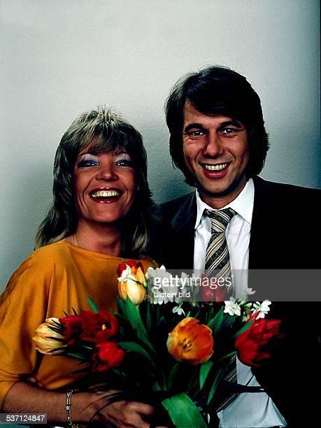 Sänger D mit Ehefrau Christina ca 70er Jahre