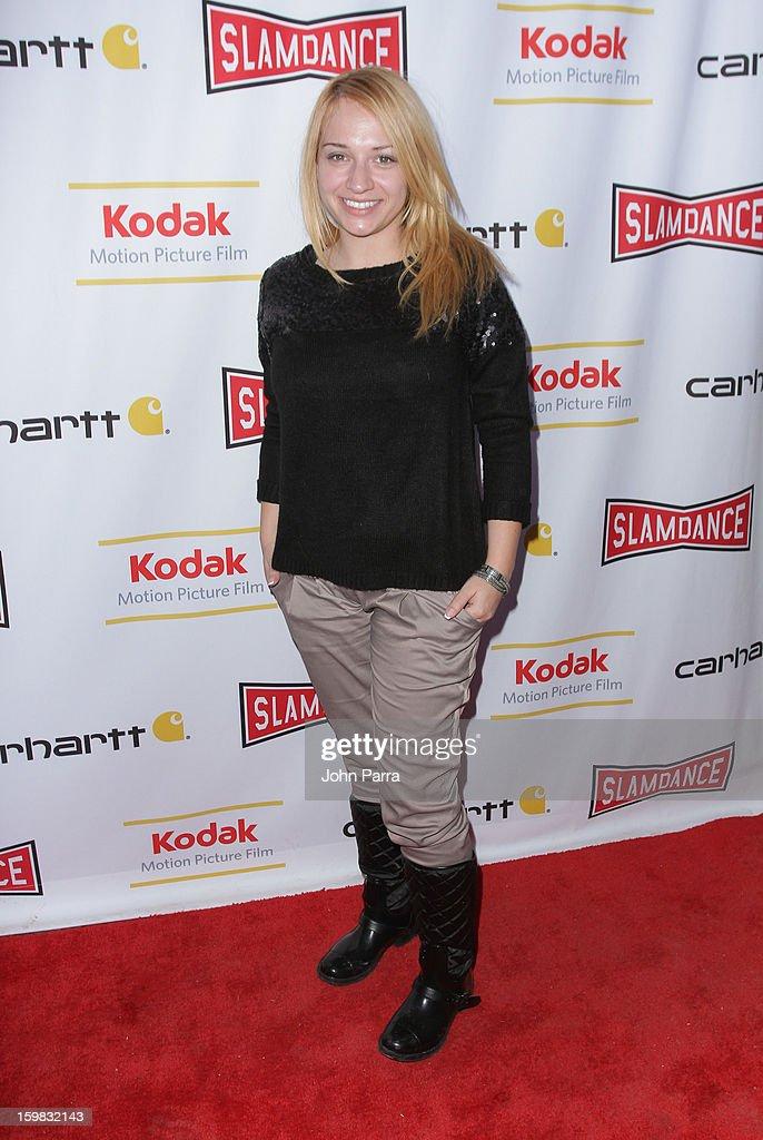 Sngzana Pengv attends the Slamdance Film Festival at Slamdance Public House on January 20, 2013 in Park City, Utah.