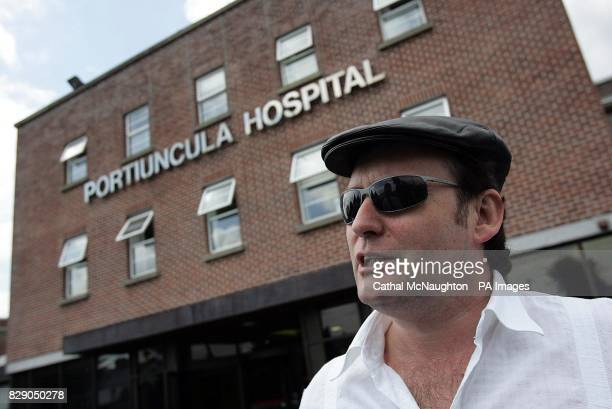 Snooker player Jimmy White after emergency surgery to have his appendix removed in Roscommon General Hospital After being released he went on to the...