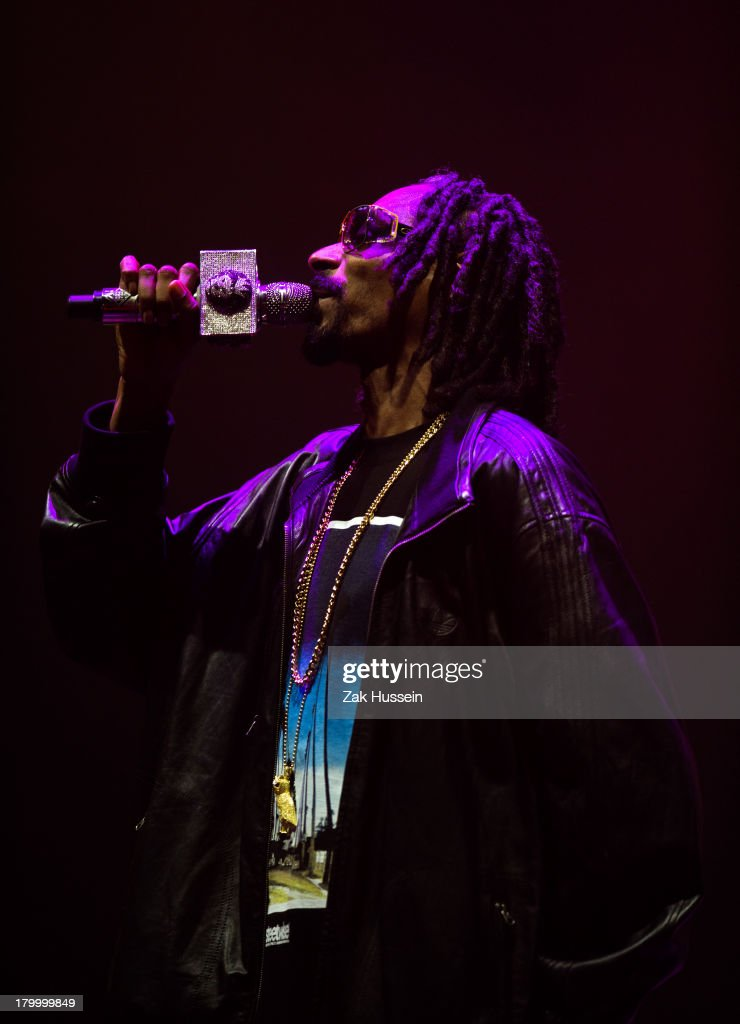 Snoop Dog performs at Day 3 of Bestival at Robin Hill Country Park on September 7, 2013 in Newport, Isle of Wight.