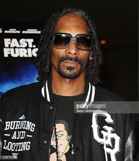 Snoop Dogg aka Snoop Lion attends a screening of 'Turbo' at ArcLight Hollywood on July 16 2013 in Hollywood California