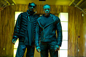 Snoop Dogg and Dr Dre during the 'Kush' video shoot on November 17 2010 in Los Angeles California 'Kush' is the first song to be released from Dr...