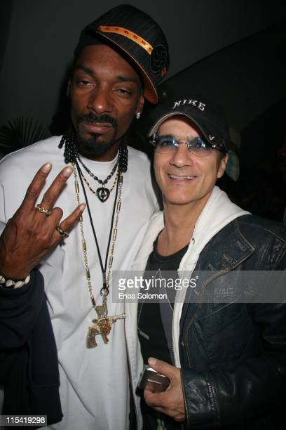 Snoop Dogg and Jimmy Iovine during Snoop Dogg's Birthday Bash and 'Hood of Horror' After Party Sponsored By Captain Morgan Heineken Monster Energy at...