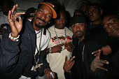 Snoop Dogg and Ray J during Snoop Dogg's Birthday Bash and 'Hood of Horror' After Party Sponsored By Captain Morgan Heineken Monster Energy at...