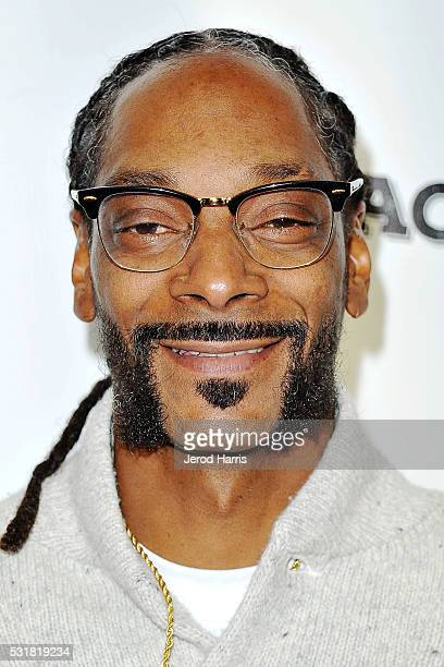 Snoop Dogg arrives at the Premiere of AOL and First Row Films' 'Coach Snoop' at TCL Chinese 6 Theatres on May 16 2016 in Hollywood California