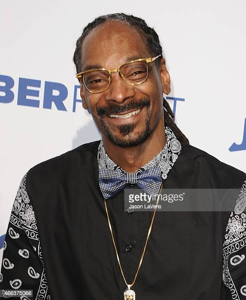 Snoop Dogg attends the Comedy Central Roast Of Justin Bieber on March 14 2015 in Los Angeles California