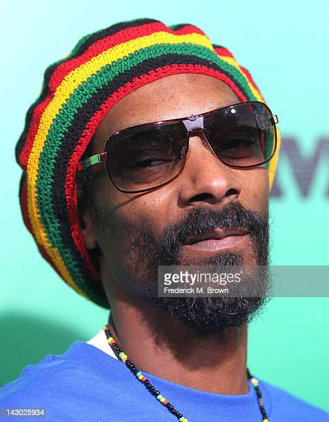 Snoop Dogg attends the Premiere of Magnolia Pictures' 'Marley' at the ArcLight Hollywood on April 17 2012 in Hollywood California