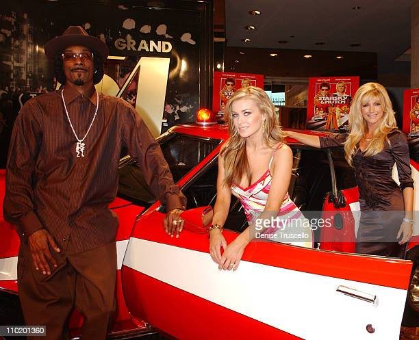 Snoop Dogg Carmen Electra and Brande Roderick during Warner Home Video Celebrates The DVD and VHS Premiere of 'Starsky Hutch' at Studio 54 In The MGM...