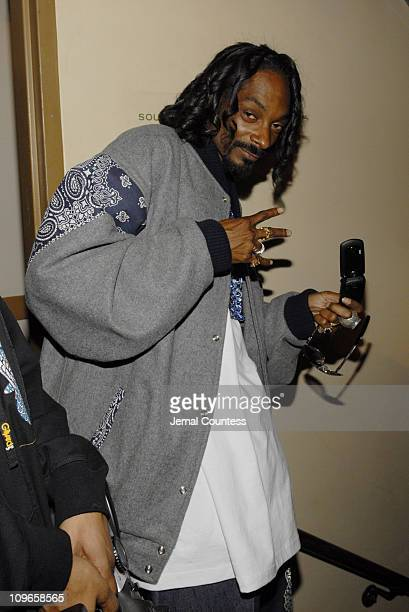 Snoop Dogg during 2006 BET HipHop Awards Audience and Backstage at Fox Theatre in Atlanta Georgia United States