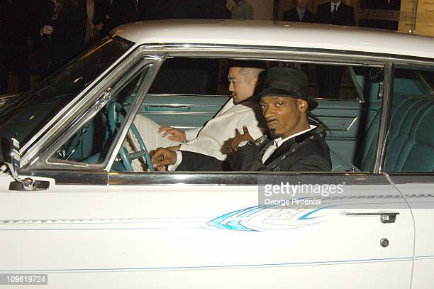 Snoop Dogg during 2006 Clive Davis PreGRAMMY Awards Party Red Carpet at Beverly Hilton in Beverly Hills California United States