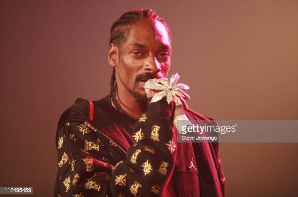 Snoop Dogg during Control Room Hosts Snoop Dogg in Concert October 29 2006 at Bill Graham Civic Auditorium in San Francisco California United States