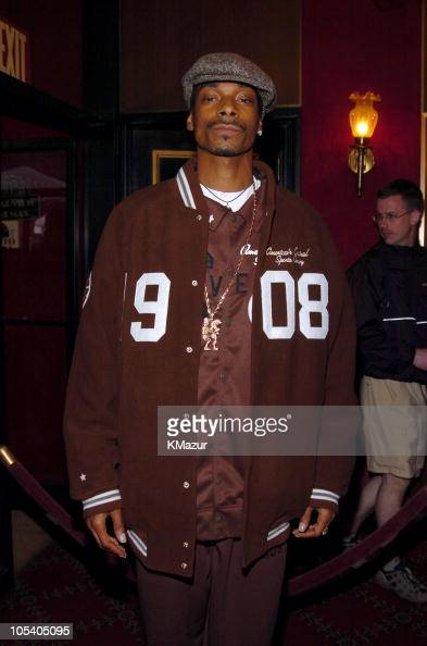 Snoop Dogg during Troy New...