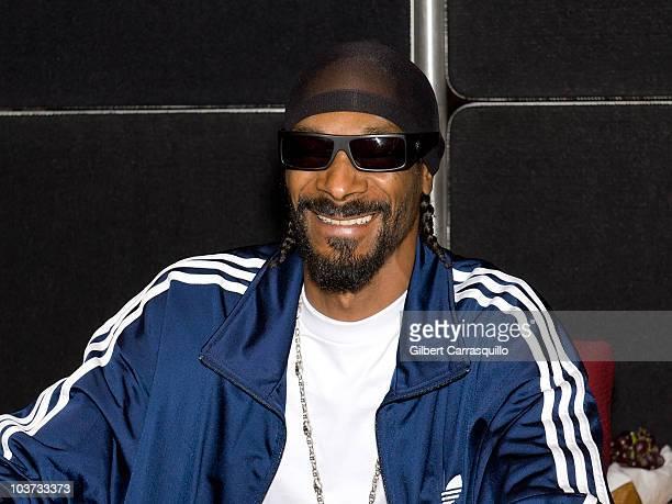 Snoop Dogg greets fans during Landy Cognac VS signing at Philadelphia Wine Spirits on August 30 2010 in Philadelphia Pennsylvania