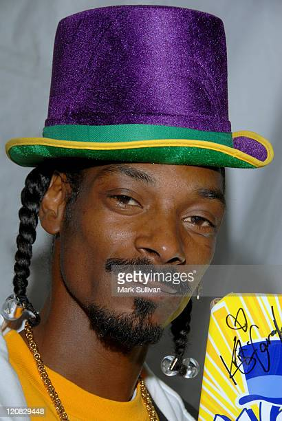 Snoop Dogg in My Scene Fab Faces Dolls Celebrity Retreat Produced by Backstage Creations at the 2006 Teen Choice Awards