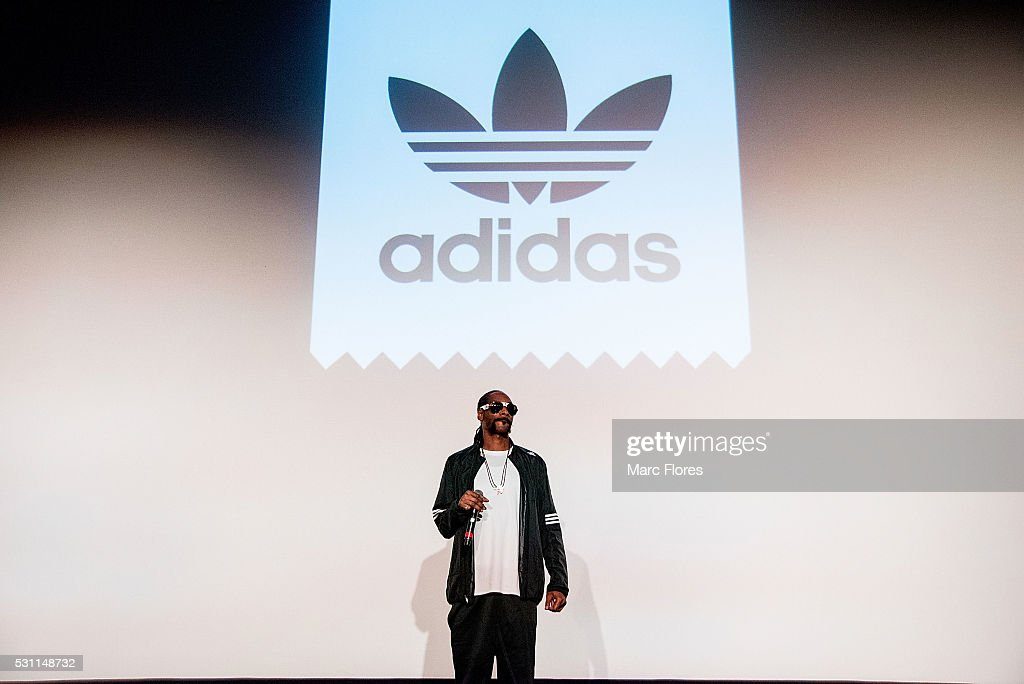 Snoop Dogg performs at the premiere of Adidas' 'Away Days' at The Orpheum Theatre on May 12 2016 in Los Angeles California