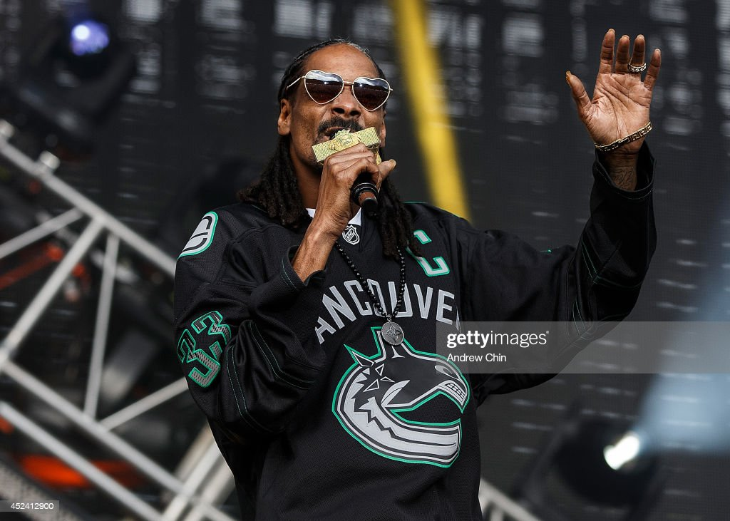 Snoop Dogg performs during Day 2 of Pemberton Music and Arts Festival on July 19, 2014 in Pemberton, Canada.