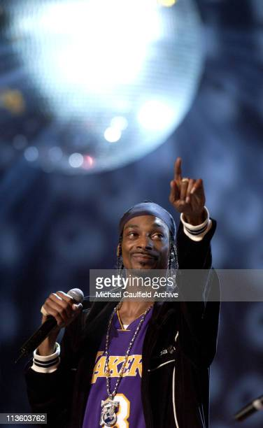 Snoop Dogg performs during rehearsals for the 10th annual ESPY awards at the Kodak Theatre in Los Angeles Tuesday July 9 2002