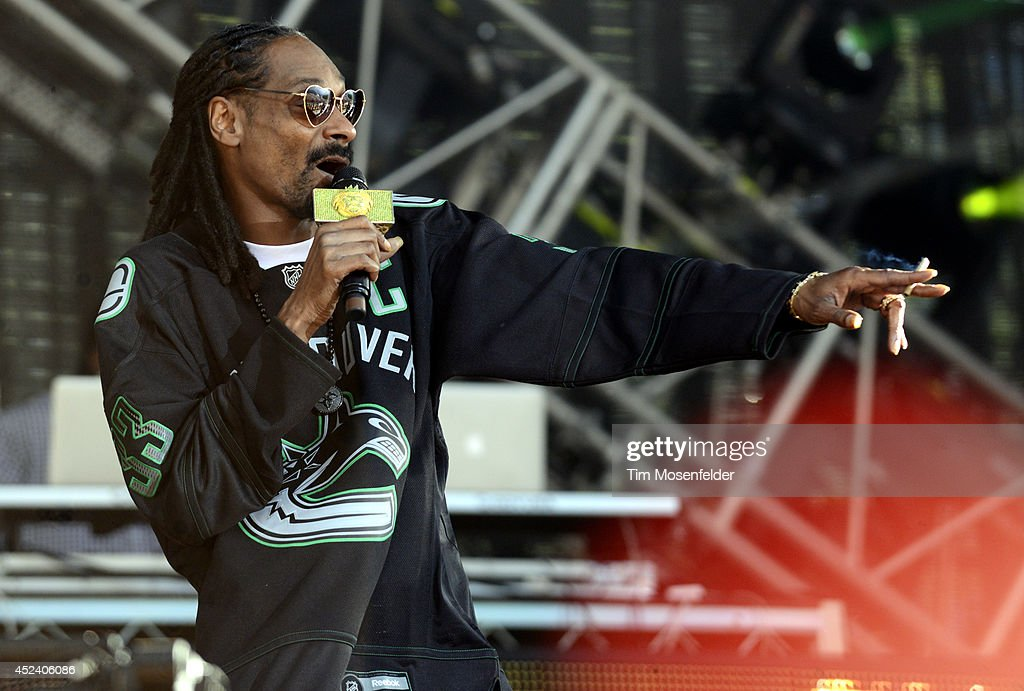 Snoop Dogg performs during the Pemberton Music and Arts Festival at on July 19, 2014 in Pemberton, British Columbia.