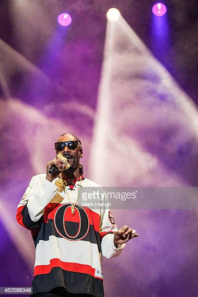 Snoop Dogg performs on Day 9 of the RBC Royal Bank Bluesfest on July 12 2014 in Ottawa Canada