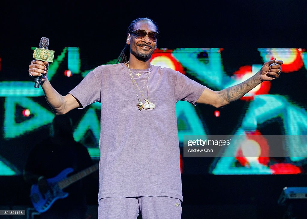 Snoop Dogg performs on stage during day 2 of Center Of Gravity on July 29, 2017 in Kelowna, Canada.