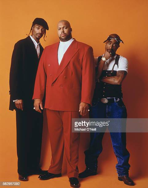 Snoop Dogg Suge Knight and Tupac Shakur