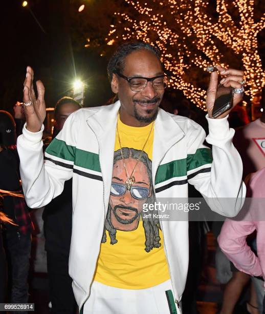 Snoop Dogg toasts to Sean 'Diddy' Combs and the world premiere of Can't Stop Won't Stop at the official after party powered by CIROC Vodka and Deleon...