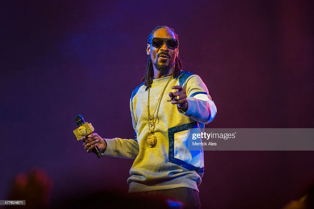 Snoop Lion performs a show at Stubb's Austin during South by Southwest on March 9, 2014 in Austin, Texas.