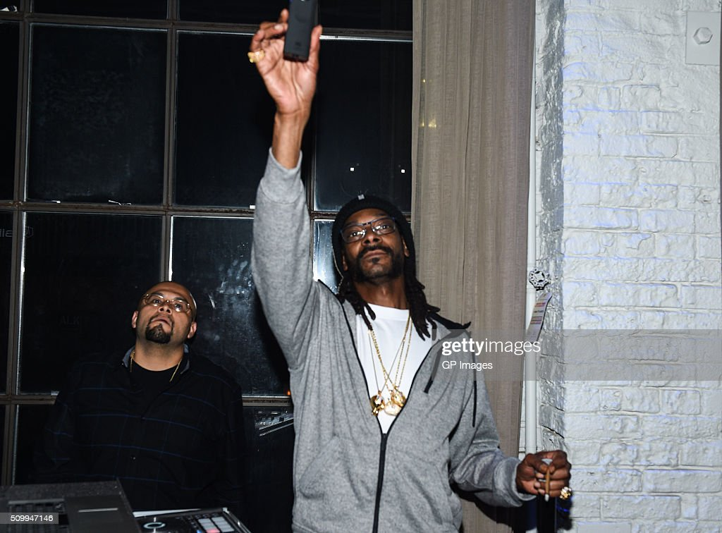 Snoopadelic A.K.A Snoop attends the Jose Bautista All-Star Weekend kick-off party with special guest set by DJ Snoopadelic A.K.A <a gi-track='captionPersonalityLinkClicked' href=/galleries/search?phrase=Snoop+Dogg&family=editorial&specificpeople=175943 ng-click='$event.stopPropagation()'>Snoop Dogg</a> sponsored by GuardLab at Brassaii on FEBRUARY 12, 2016 in Toronto, Canada.