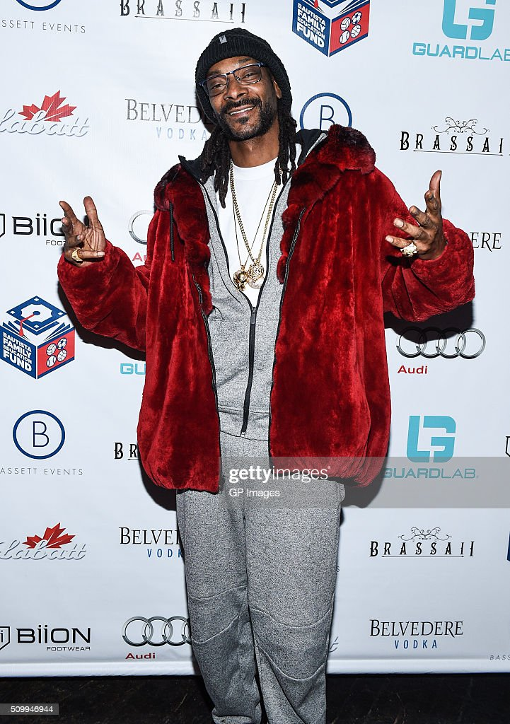 DJ Snoopadelic A.K.A <a gi-track='captionPersonalityLinkClicked' href=/galleries/search?phrase=Snoop+Dogg&family=editorial&specificpeople=175943 ng-click='$event.stopPropagation()'>Snoop Dogg</a> attends the Jose Bautista All-Star Weekend kick-off party with special guest set by DJ Snoopadelic A.K.A <a gi-track='captionPersonalityLinkClicked' href=/galleries/search?phrase=Snoop+Dogg&family=editorial&specificpeople=175943 ng-click='$event.stopPropagation()'>Snoop Dogg</a> sponsored by GuardLab at Brassaii on February 13, 2016 in Toronto, Canada.