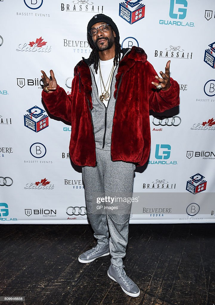 DJ Snoopadelic A.K.A <a gi-track='captionPersonalityLinkClicked' href=/galleries/search?phrase=Snoop+Dogg&family=editorial&specificpeople=175943 ng-click='$event.stopPropagation()'>Snoop Dogg</a> attends theJose Bautista All-Star Weekend kick-off party with special guest set by DJ Snoopadelic A.K.A <a gi-track='captionPersonalityLinkClicked' href=/galleries/search?phrase=Snoop+Dogg&family=editorial&specificpeople=175943 ng-click='$event.stopPropagation()'>Snoop Dogg</a> at Brassaii sponsored by GuardLab at Brassaii on February 13, 2016 in Toronto, Canada.