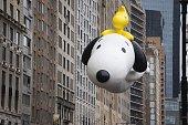 snoopy ballon Macy's 2014 88th Thanksgiving Day Parade The Manhattan Borough of New York New York USA