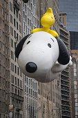 Snoopy balloon Macy's 2014 88th Thanksgiving Day Parade The Manhattan Borough of New York New York USA