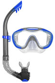 Snorkel and Mask for Diving on white background.With Clipping Path