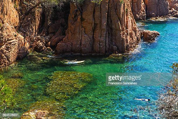 Snorkeling and paddling in Costa Brava