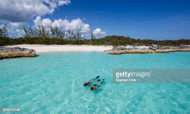 Snorkeling at Cat Island, Bahamas