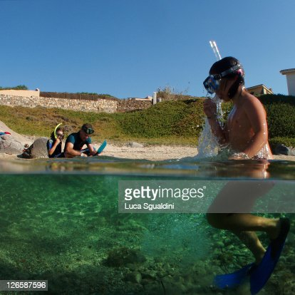 Snorkeling : Stock Photo