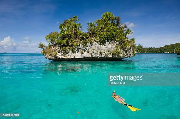 Snorkeling Rock Islands Micronesia Palau