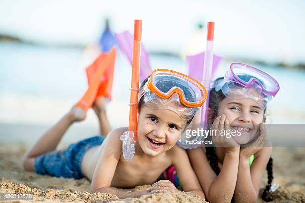Snorkeling Siblings
